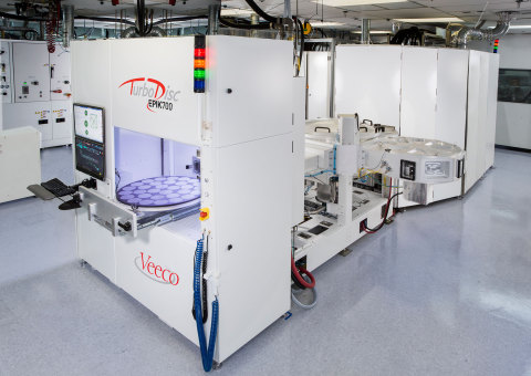 Veeco's TurboDisc EPIK700 MOCVD System was recently awarded the 2015 Compound Semiconductor Industry ...