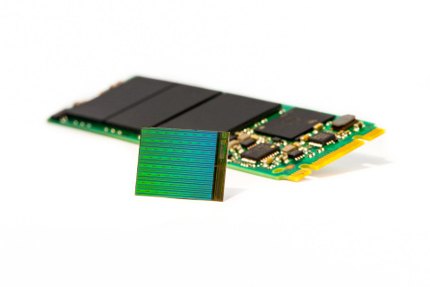 Enables gum stick-sized SSDs with more than 3.5TB of storage (Photo: Business Wire)