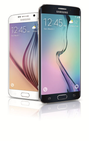 Samsung Galaxy S 6 and Galaxy S 6 edge (Photo: Business Wire)