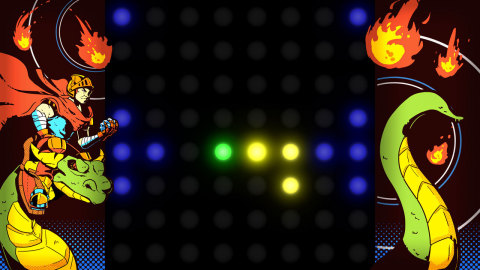Dot Arcade is a video game distilled to its simplest form, with a unique game-play focus. (Photo: Bu ...