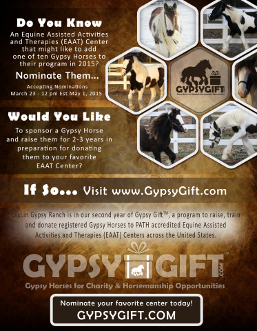 2015 Gypsy Gift Announcement (Graphic: Business Wire)