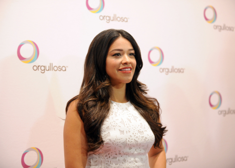"""Golden Globe winning Actress Gina Rodriguez attends P&G Orgullosa's forum """"Nueva Latinas Living Fabulosa"""" at The TimesCenter on Wednesday, March 25 in New York. The program celebrates the beauty and diversity of modern, Nueva Latinas through real conversations and a forum recognizing Latina trendsetters and their stories of confidence, strength and success. Visit Facebook.com/Orgullosa for more information. (Photo by Diane Bondareff/Invision for P&G Orgullosa/AP Images)"""
