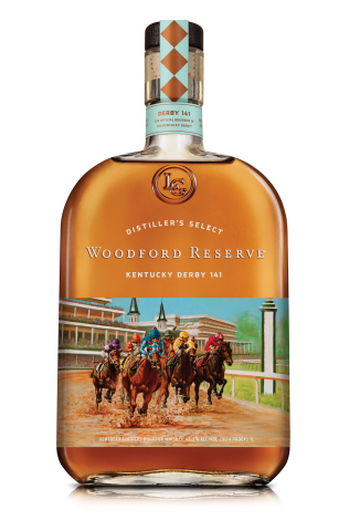 Woodford Reserve® Bourbon Releases 2015 Kentucky Derby® Bottle (Photo: Business Wire)
