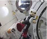 Kirobo speaking his first words in outer space (Photo: Business Wire)