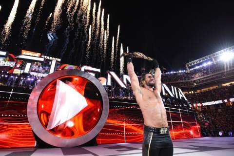 WWE World Heavyweight Champion Seth Rollins (Photo: Business Wire)