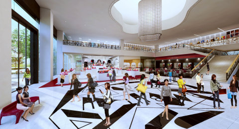 Image of the 1st floor (Graphic: Business Wire)
