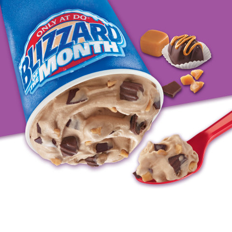 Salted Carmel Truffle Blizzard (Graphic: Business Wire)