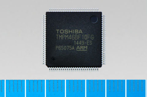 "Toshiba: ARM(R) Cortex(R)-M4F-based microcontroller ""TMPM46BF10FG"" for secure communications control ..."