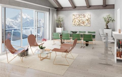 Zalaba design lancia la collezione di mobili contemporanei durante il salone del mobile la - Mobili contemporanei ...