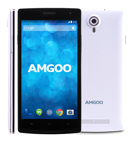 El AMGOO AM522 teléfono inteligente Android de 5 pulgadas es uno de varios smartphones 3G disponible ...