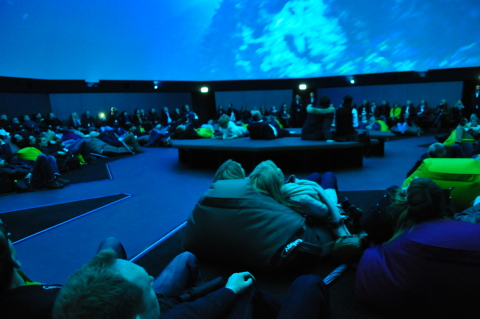 """Beautiful Europe"" @ Traumzeit-Dome – ZENDOME Immersive Media Screen at Europa-Park Rust, Germany (Photo: Business Wire)"