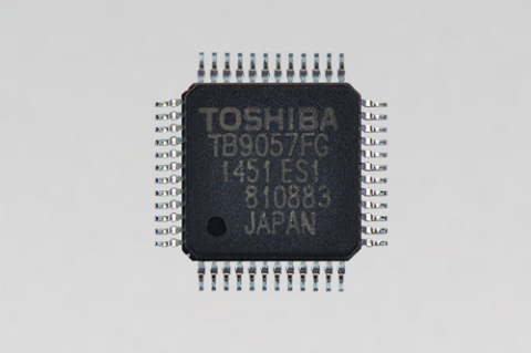 "Toshiba: a new brushed motor pre-driver IC ""TB9057FG"" for automotive EPS (Photo: Business Wire)"