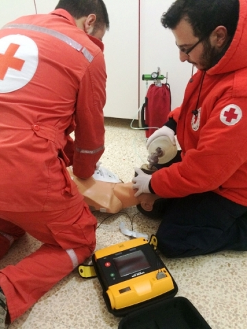 The Lebanese Red Cross, which provides the majority of emergency medical response services in Lebano ...
