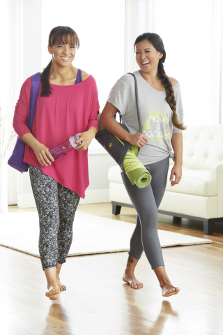 Two Fit Moms in Kohl's exclusive Gaiam collection available on April 23 (Photo: Business Wire)
