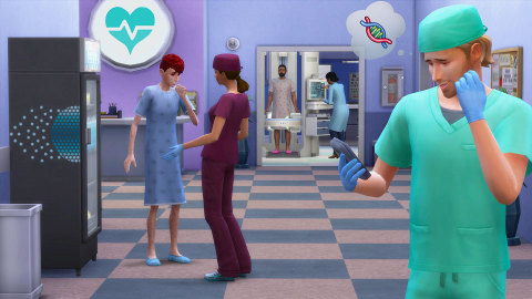 The Sims 4 Get to Work (Graphic: Business Wire)