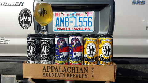 Appalachian Mountain Brewery beers to be distributed through Craft Brew Alliance. (Photo: Business Wire)