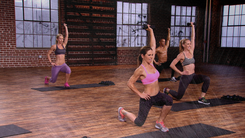 Jillian Michaels leads BODYSHRED (Photo: Empowered Media)