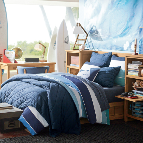 Kelly Slater for PBteen Point Break Quilt & Sham (Photo: Business Wire)
