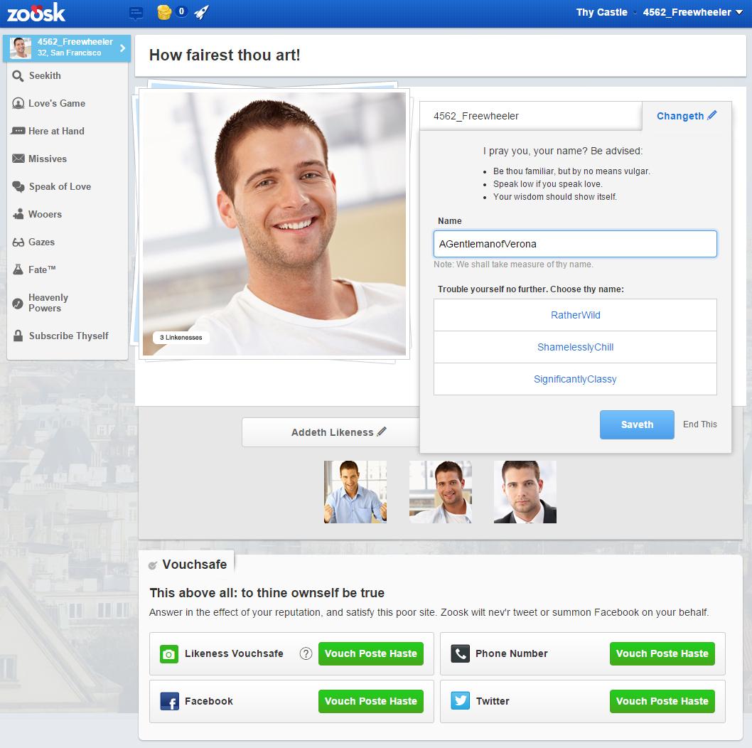 Online dating site de