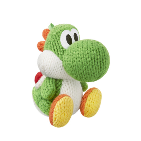 A new set of Yoshi amiibo figures made of actual yarn will launch later this fall along with the Yoshi's Woolly World game. (Photo: Business Wire)