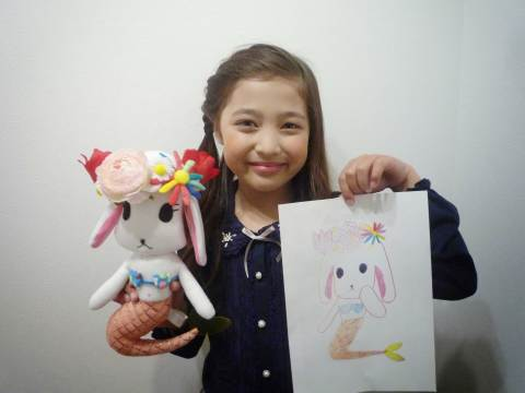 A sample image of a soft toy made based on an original hand drawing (Photo: Business Wire)
