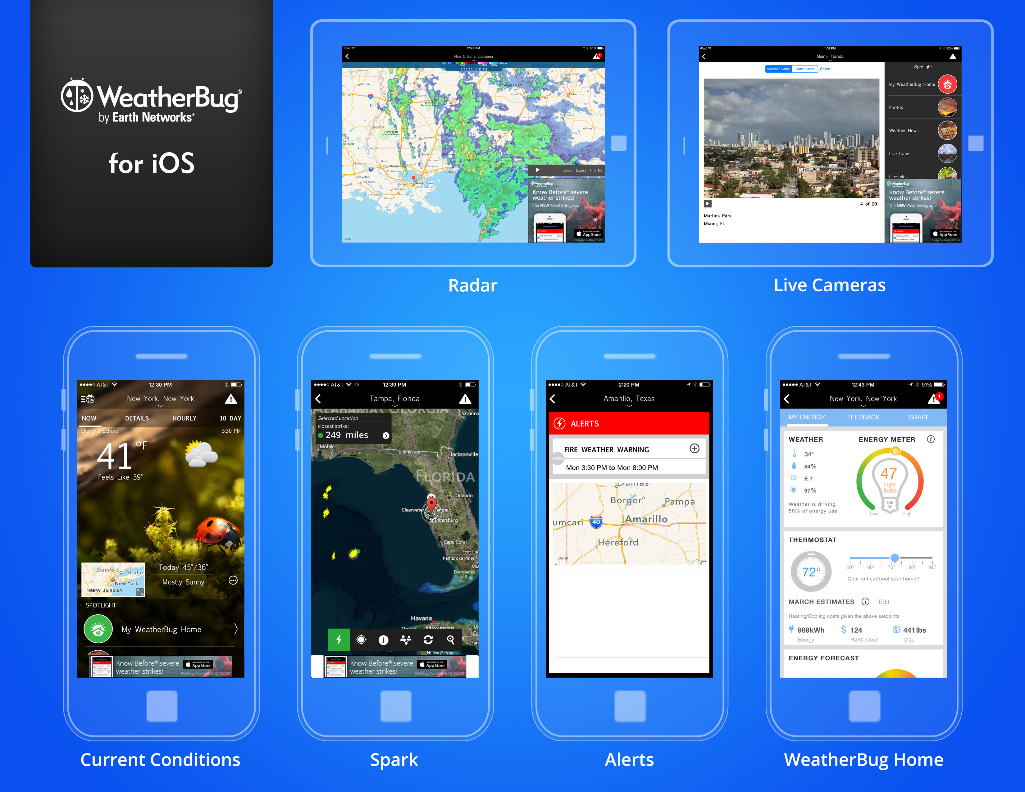 WeatherBug App for iOS Debuts New Home Energy Meter Feature
