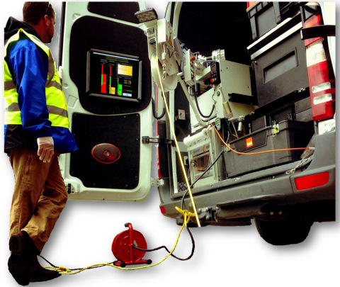 Electro Scan for water leak detection featuring automatic data capture without operator or third-par ...