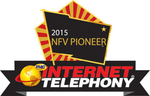 Alianza Cloud Voice Platform wins 2015 NFV Pioneer Award. (Graphic: Business Wire)