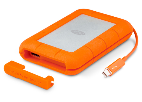 LaCie Rugged Thunderbolt Integrated Cable (Photo: Business Wire)