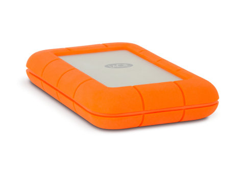 LaCie Rugged Thunderbolt Hard Drive (Photo: Business Wire)