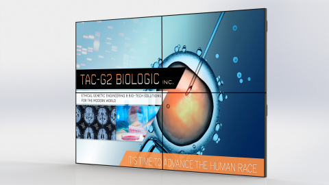 Planar RA-Series Narrow Bezel LCD VideoWall (Photo: Business Wire)