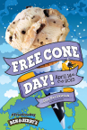 Free Cone Day 2015 (Graphic: Business Wire)