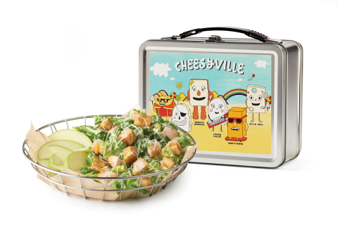 The Melt's new kid menu item: Chicken Caesar Salad served w/ fresh apples, $4.95. (Photo: Business Wire)