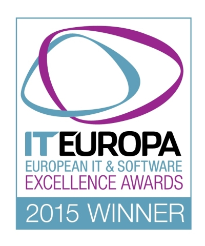 Nexenta won Software Vendor of the Year at the European IT & Software Excellence awards (Graphic: Business Wire)