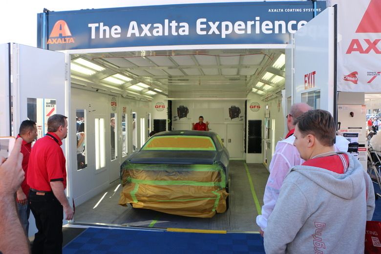 Axalta to Highlight Waterborne Products With a Working Mixing Room and Paint Booth – All Engineered for Speed