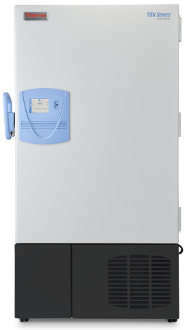 The Thermo Scientific TSX ultra-low temperature freezer safely stores life science samples with temperature uniformity while using up to 50 percent less energy than conventional ultra-low freezers. (Photo: Business Wire)