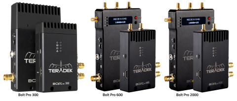 Bolt Pro 300, 600, and 2000 (Photo: Business Wire)