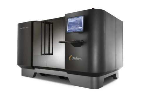 The Objet1000 Plus 3D Production System delivers up to 40 percent faster printing speeds than its pr ...