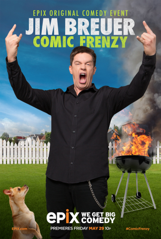 Jim Breuer: Comic Frenzy (Graphic: Business Wire)