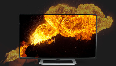 With Dolby Vision this fire burns brighter. (Graphic: Business Wire)