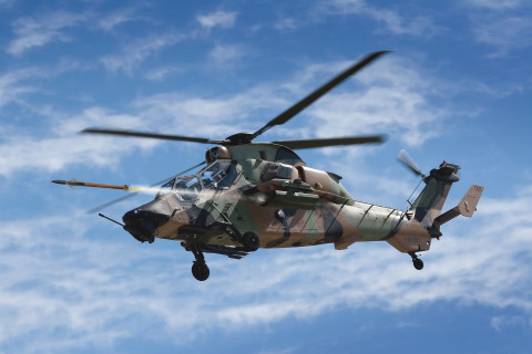 The Australian Defence Force aims to field BAE Systems' APKWS rocket on its Airbus Tiger Armed Reconnaissance Helicopter (Graphic: BAE Systems)