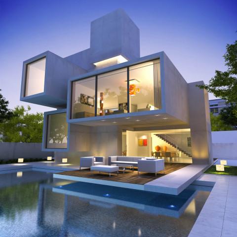 A luxury villa within the lush green AKOYA Oxgyen lifestyle community in Dubai. (Photo: Business Wire)