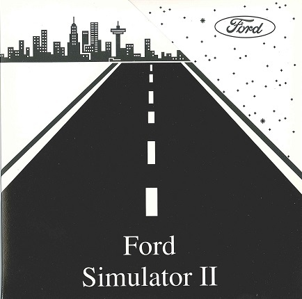 The Ford Simulator, created by ChannelNet in 1986, was the first interactive advertising program. (Graphic: Business Wire)