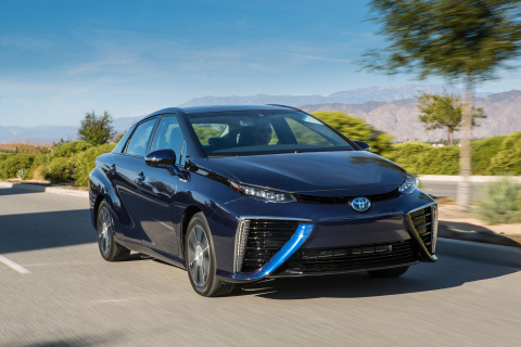 Toyota will educate about fuel cell technology at the National Mall in Washington, D.C., from April 17-19 as part of the Global Citizen 2015 Earth Day celebration. (Photo: Business Wire)