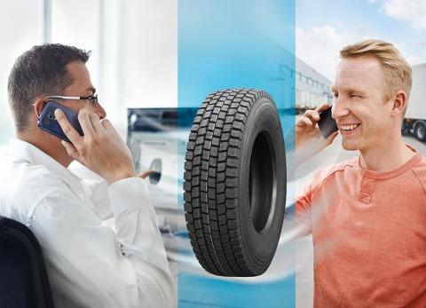 Frühjahrs-Aktion! Nutzfahrzeugreifen sind leicht, günstig und schnell online bestellt beim Spezialist für Lkw- und Nfz-Reifen, Delticom. (Graphic: Business Wire)