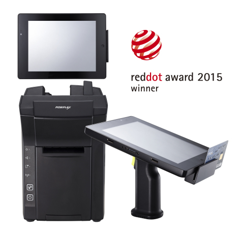 "Award-winning mobile POS, the Posiflex MT-4008W includes an 8"" tablet with a detachable pistol grip supporting MSR and barcode scanner. When the MT-4008W integrates with the optional dock station, an all-in-one POS is at the user's disposal. (Photo: Business Wire)"
