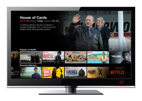 DISH is the first major U.S. pay-TV provider to offer its customers a whole-home Netflix experience. (Graphic: Business Wire)
