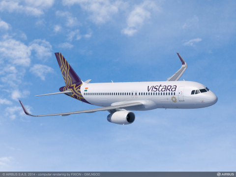 With its state-of-the-art wireless technology and unique user interface, BAE Systems' fully integrated in-flight entertainment system will provide Vistara's passengers with entertainment options beyond those currently available aboard commercial flights. (Graphic: Vistara)