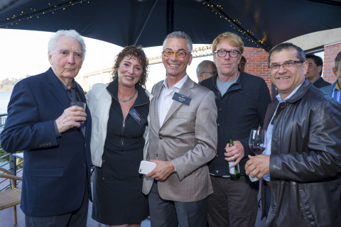 From left to right: Primo Angeli (Founder and Creative Director, Primo Angeli Design), Renee Blodgett (CEO and Founder, Magic Sauce Media), Ron Young (CEO and Founder, Shocase), Chuck McBride (Founder and Executive Creative Director, Cutwater) and Rod Mickels (CEO and Founder, InVision Communications) (Photo: Business Wire)