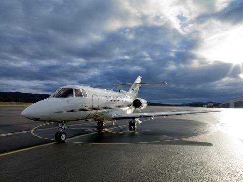 NetJets Business Aviation Limited, Hawker 800 (照片:美國商業資訊)